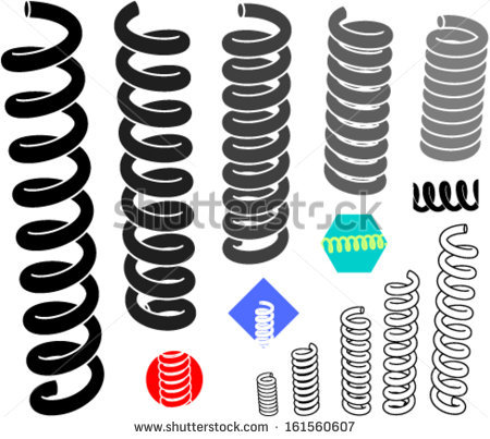 Coil Stock Images, Royalty.