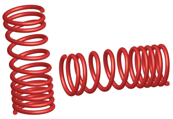 Coil Spring Graphics Clipart.