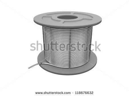 Cable Spool Stock Photos, Royalty.
