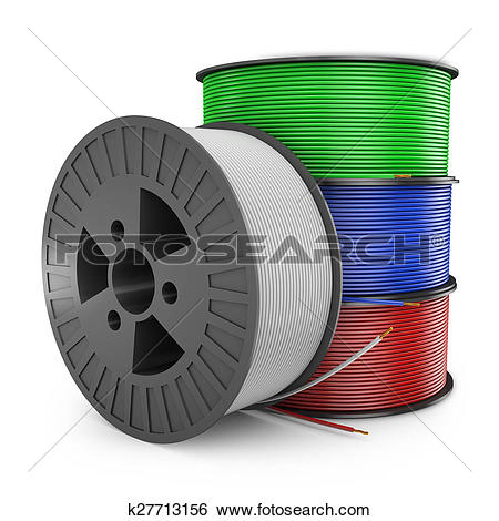 Stock Illustration of coil electric wire k27713156.