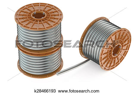 Drawing of Coils of steel wires k28466193.