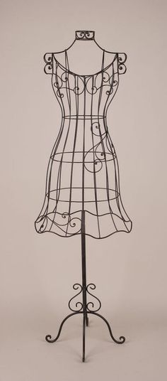 46 Best Metal Wire Dress Forms images.
