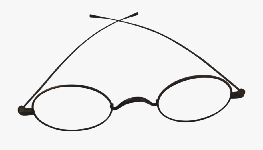 Civil War Era Wire Frame Eye Glasses Ⓒ.