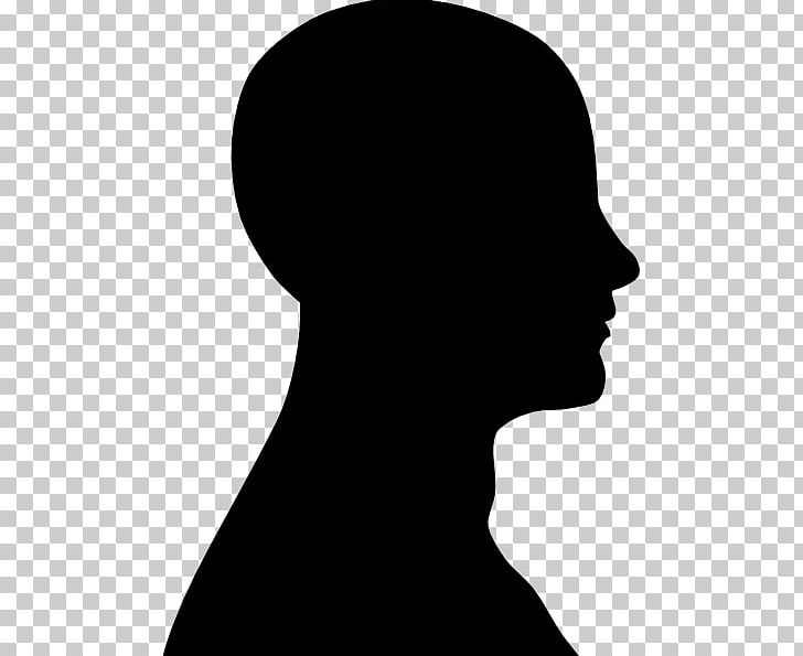 Human Head Silhouette Face PNG, Clipart, Black And White.