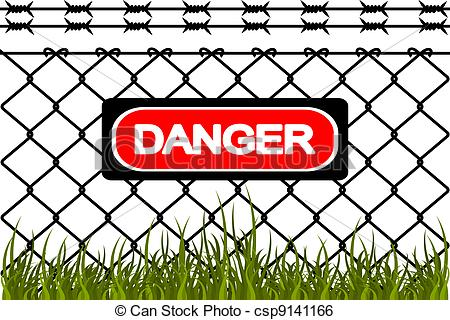 Wire fence Vector Clipart Royalty Free. 1,112 Wire fence clip art.