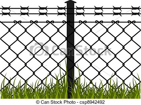 barb wire fence clip - photo #38