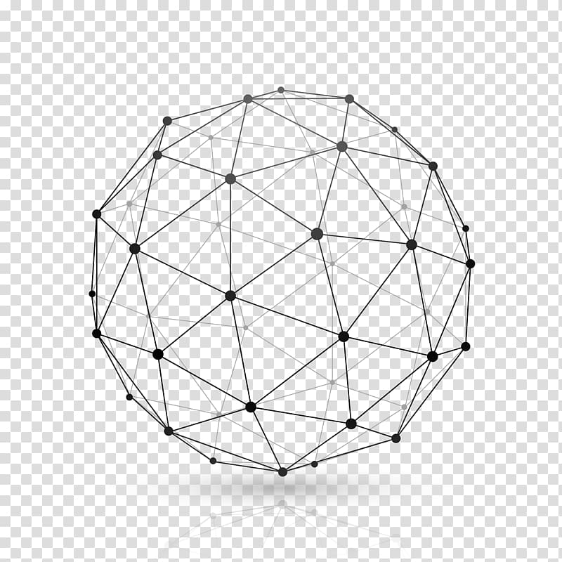 Black and gray ball illustration, Globe Website wireframe.
