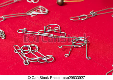 Stock Photo of Wire game.
