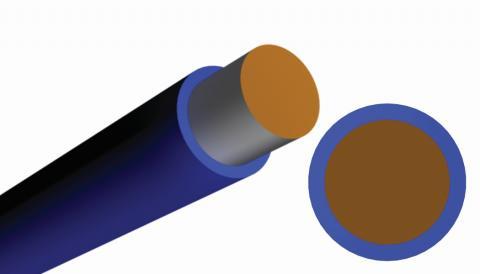 """Basic (1 layer), DuPont™ Tefzel® ETFE Insulation, .0015"""", Single."""