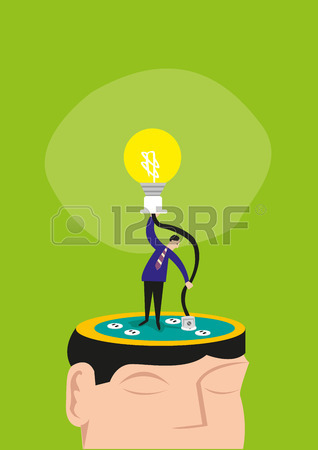 A Man Manually Connects A Wire On A Head To Light Up A Bulb.