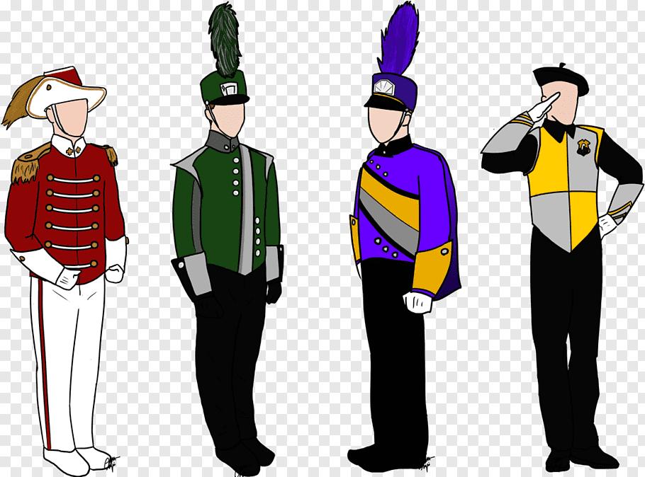 Music, Marching Band, Musical Ensemble, Uniform, Drummer.
