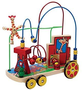 Amazon.com: Educo All Aboard Rolling Train Wire Maze: Toys & Games.