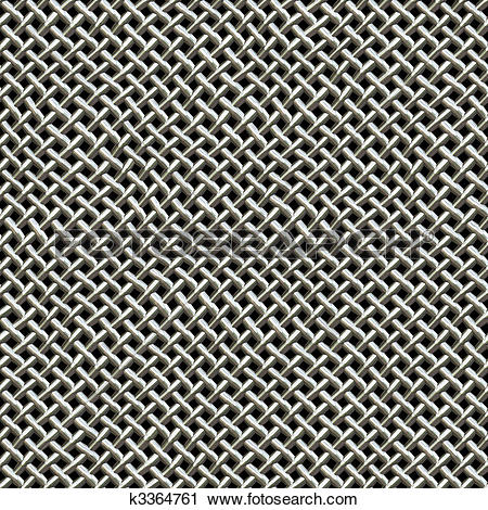 Clipart of Metal Wire Mesh Pattern k3364761.