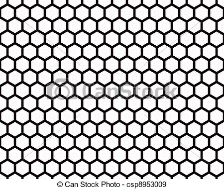 Stock Illustration of Black Wire Mesh.