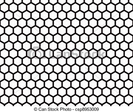 Stock Illustration of Black Wire Mesh.
