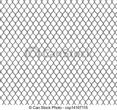 Vector Clip Art of Wire mesh, seamless csp14167115.
