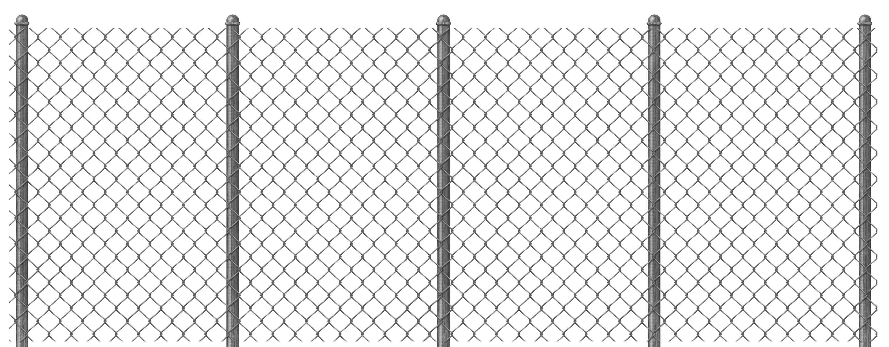 Mesh wire fence clipart #4