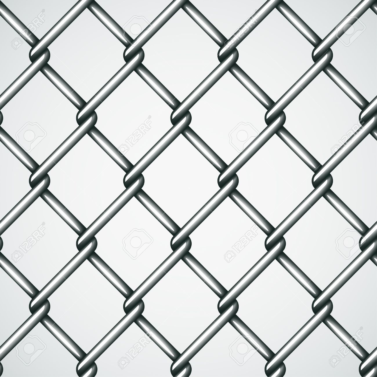 Vector Wire Fence Seamless Background Royalty Free Cliparts.