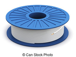 Electric cable reel Stock Illustration Images. 214 Electric.