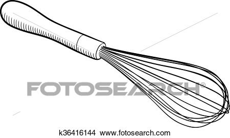 Wire Whisk Clipart.