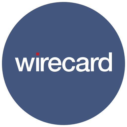 Finance, logo, method, payment, wirecard icon.
