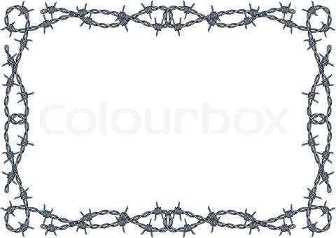Wire Border Clip Art.