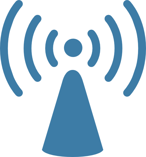 Wireless Transmission Clipart.