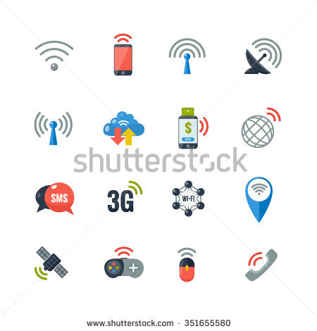 Wireless Communication Stock Images, Royalty.