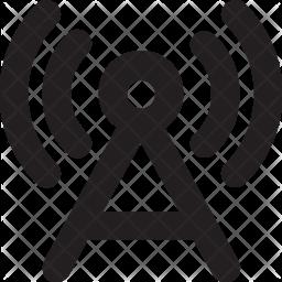 Wireless Network Icon.