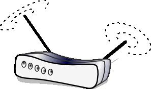 Wireless Lan Router clip art Free Vector / 4Vector.