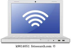 Wireless lan Clip Art Royalty Free. 996 wireless lan clipart.
