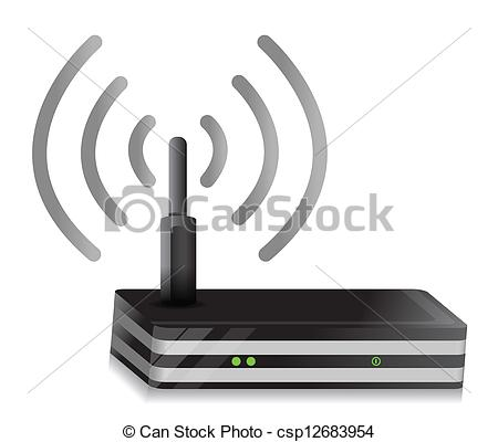 Wireless lan Vector Clipart Royalty Free. 1,230 Wireless lan clip.