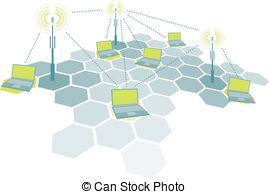 Wireless network Illustrations and Clipart. 67,375 Wireless.