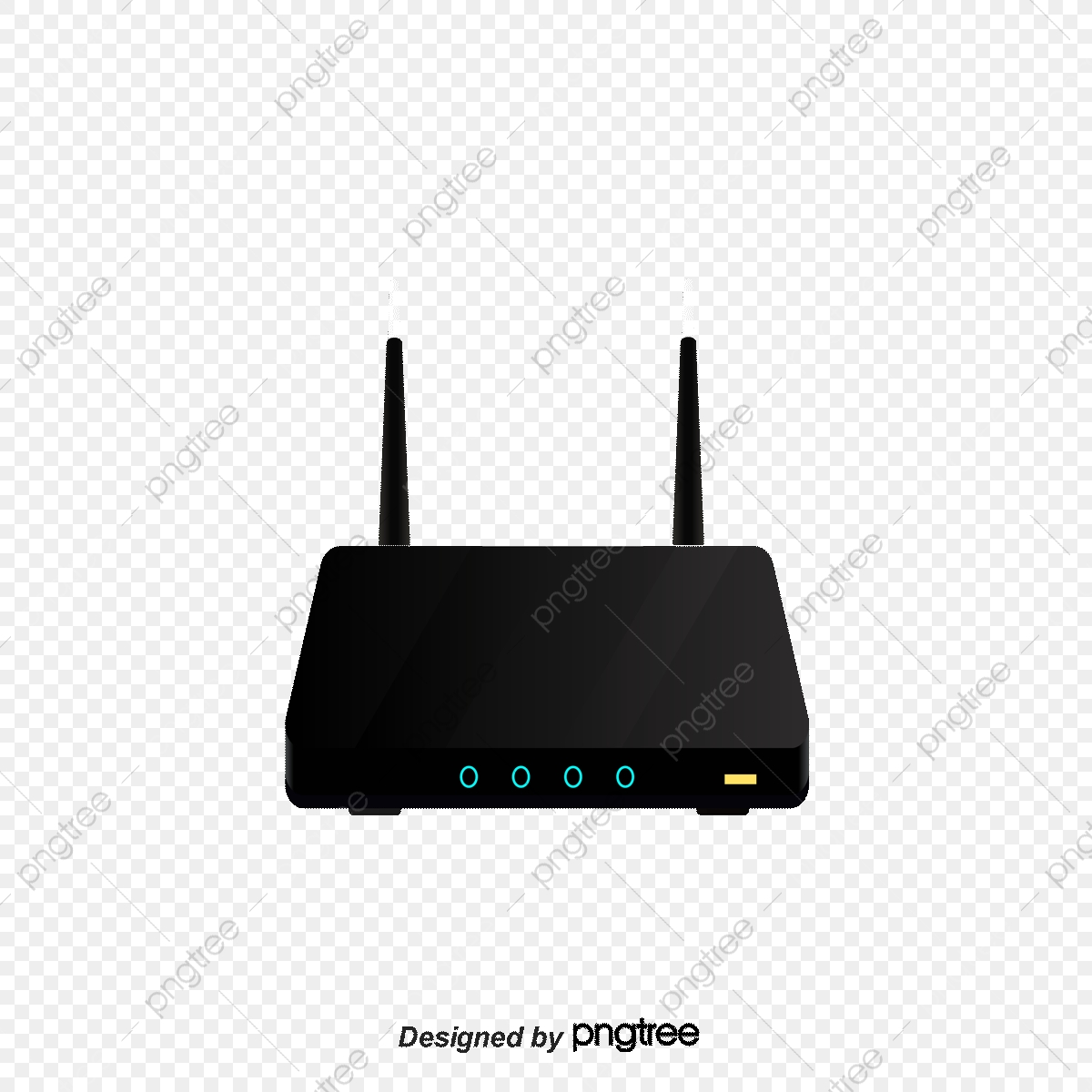 Wireless Router, Router, Wireless, The Internet PNG and Vector with.
