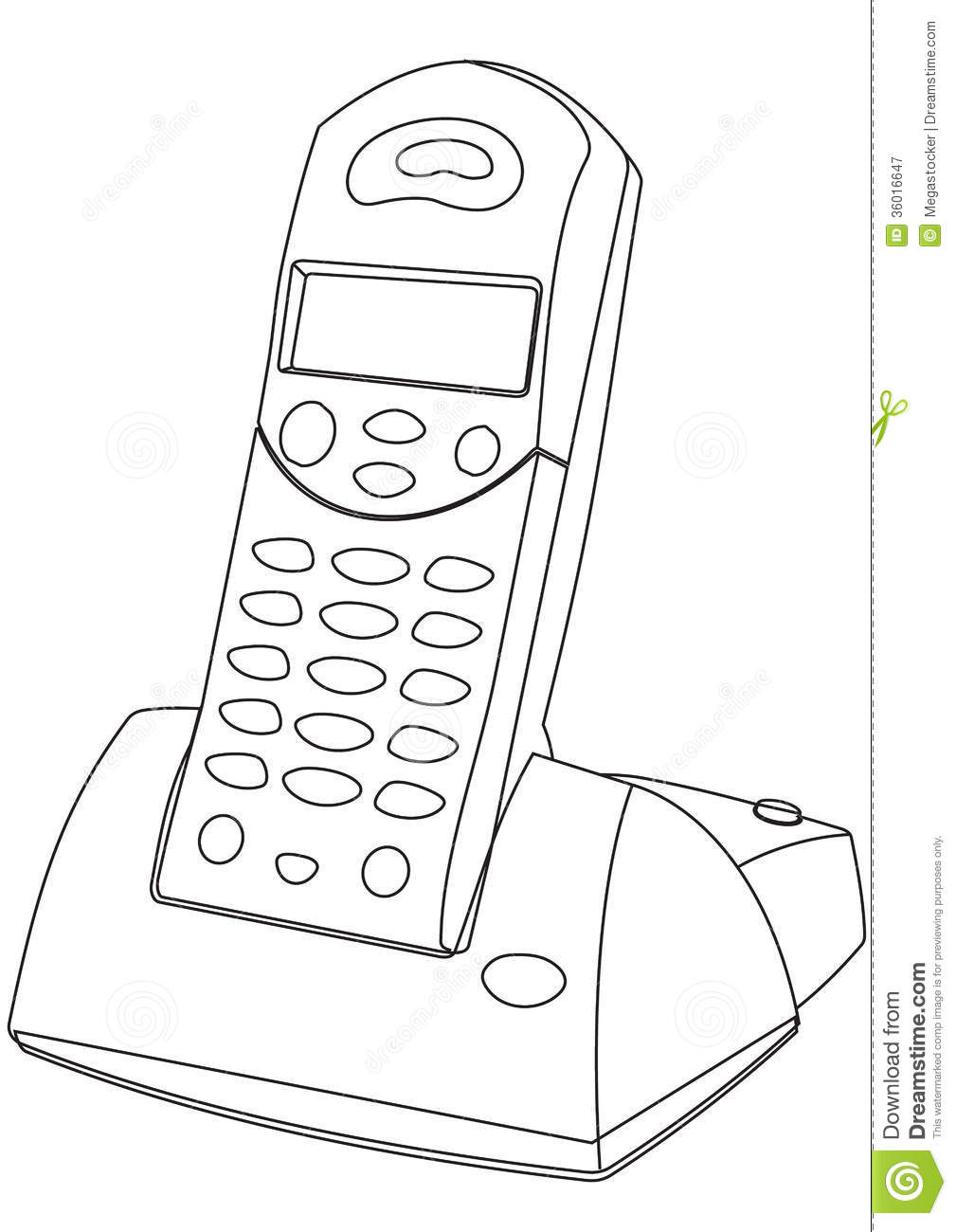wireless telephone clipart clipground