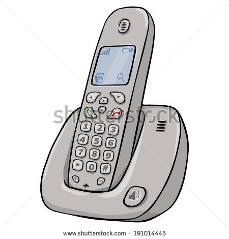 Cordless Telephone Stock Photos, Royalty.