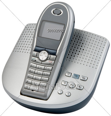 Cordless phone clipart.