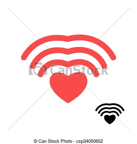 wireless transmission clipart #12