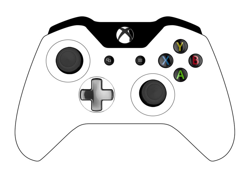 849 Xbox free clipart.