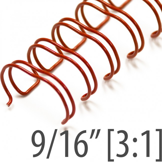 """9/16"""" Red Wire."""