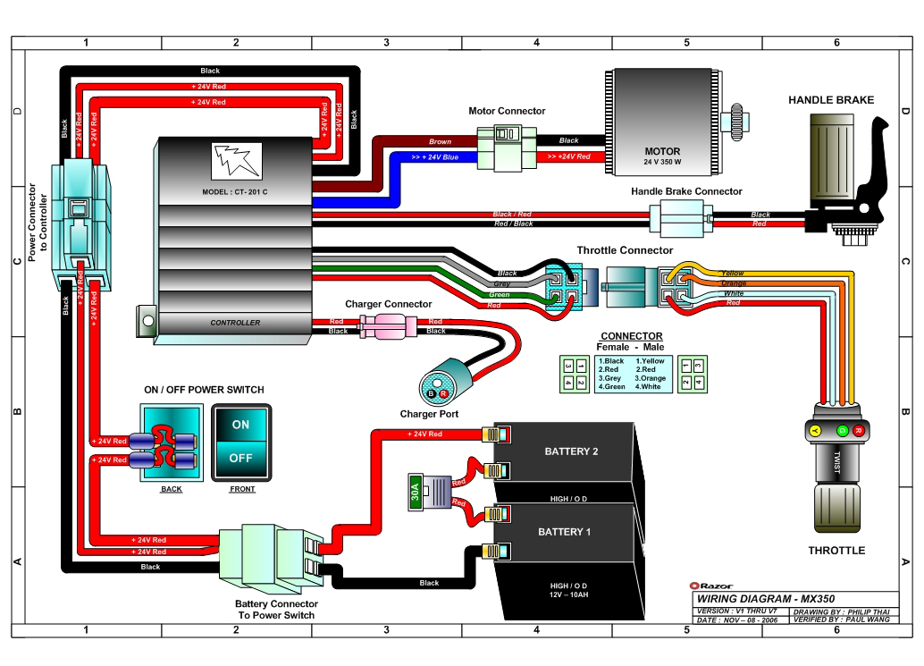 cpu wiring diagram