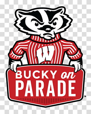 Wisconsin Badgers transparent background PNG cliparts free.