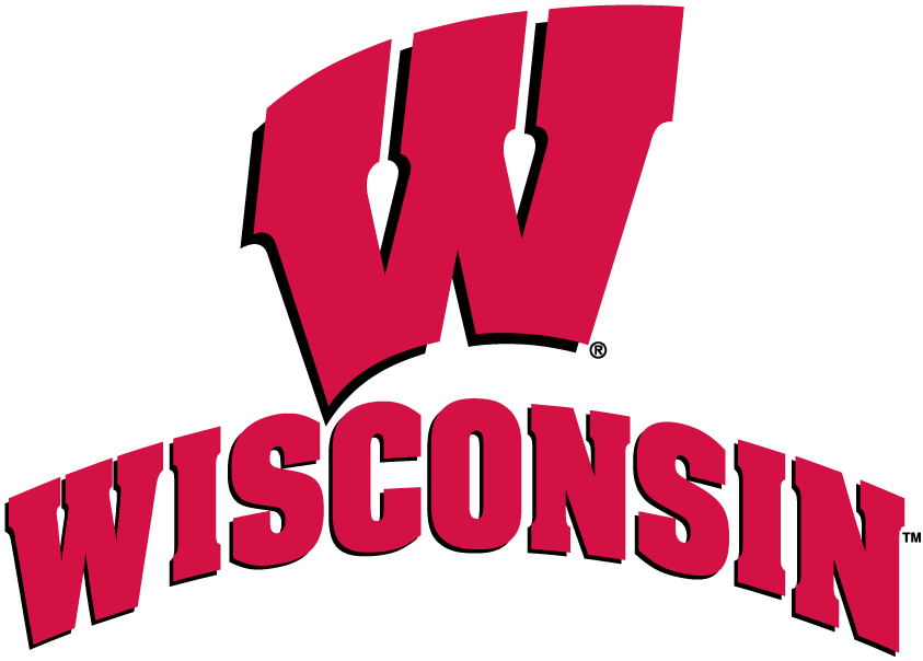 Wisconsin Basketball Clipart.