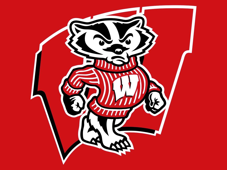 Wisconsin Badgers Desktop Clipart.