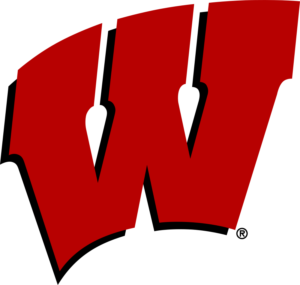 Wisconsin Badgers Logo Clipart.