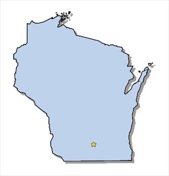 Wisconsin Clip Art Free.