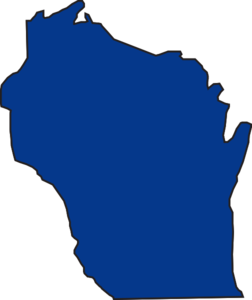 State Of Wisconsin Clip Art.