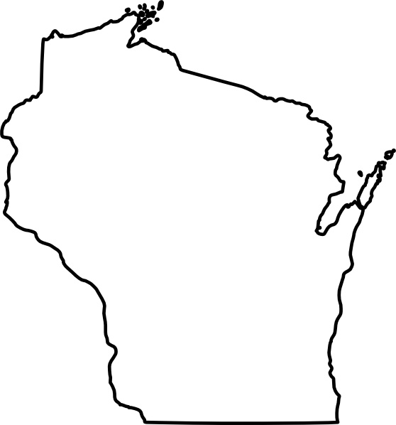Wisconsin clip art Free vector in Open office drawing svg ( .svg.