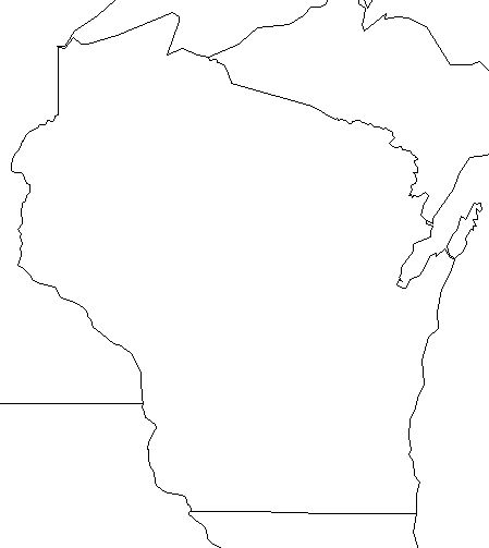 Free Wisconsin Outline, Download Free Clip Art, Free Clip.