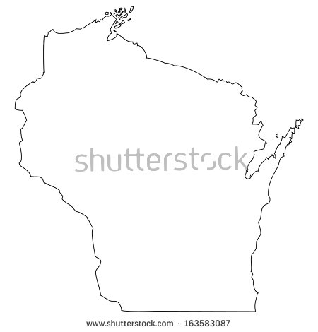 wisconsin vector free vector download 12 free vector for advertising outline map of the american state